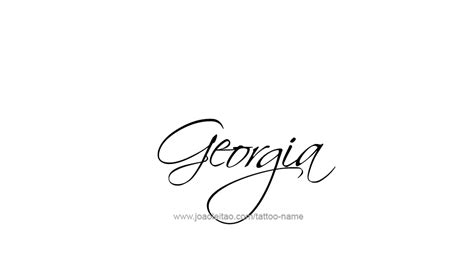 state of georgia tattoo designs design usa state 13 png
