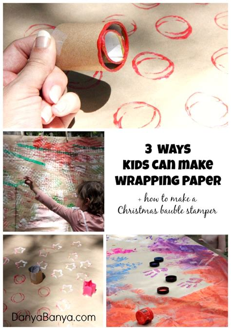 How To Make A Paper Bauble - make your own wrapping paper a diy bauble