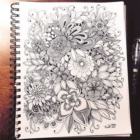 drawing doodle flowers 25 best ideas about doodle on doodle