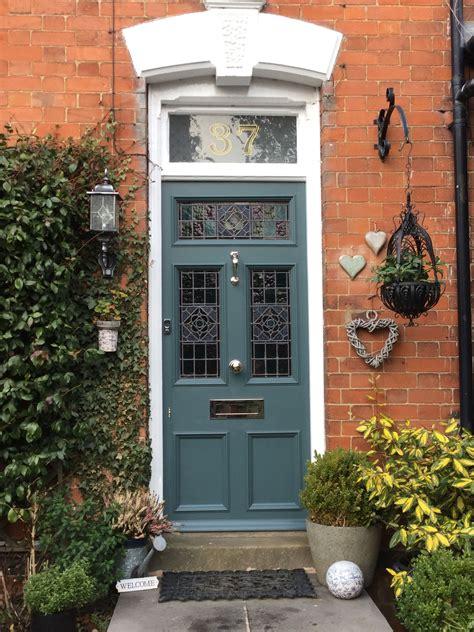 farrow  ball inchyra blue   beautiful front door