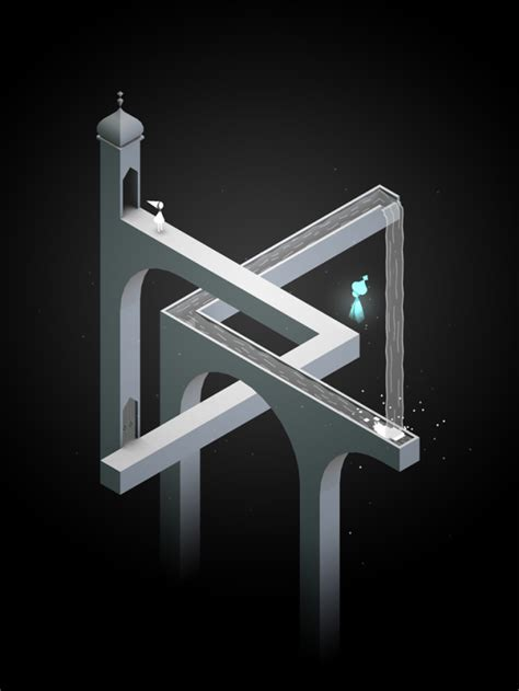 monument valley  beautiful puzzle video game inspired
