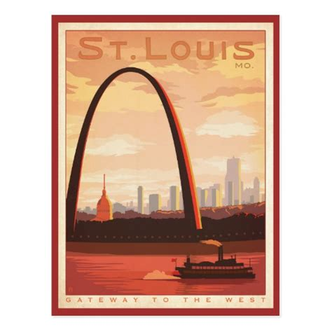 postage st template st louis mo postcard zazzle
