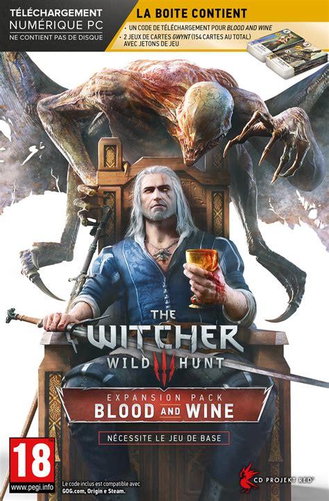 Witch Hunt Of The Blood the witcher 3 geralt ciri et yennefer en mode noir