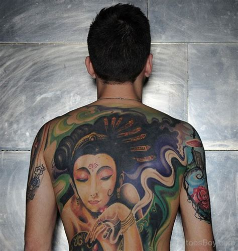 geisha back tattoo girl japanese tattoos tattoo designs tattoo pictures page 4