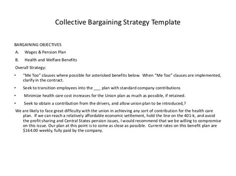 Collective Agreement Letter Of Understanding sle collective bargaining agreement exle of a local