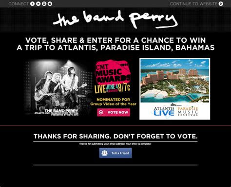 Cmt Com Sweepstakes - application spotlight the band perry cmt sweepstakes metablocks