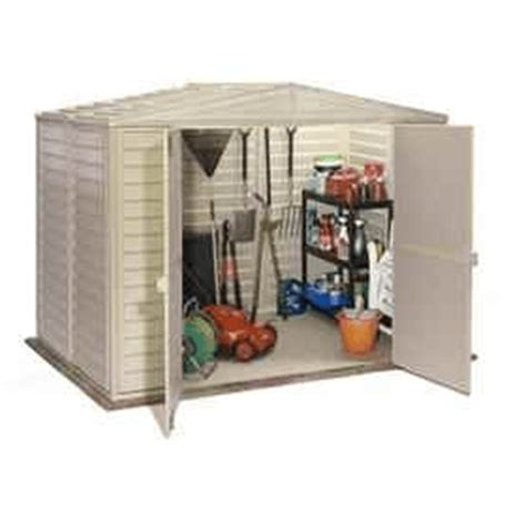 the duramax duramate plastic garden shed 8 x 8 what shed