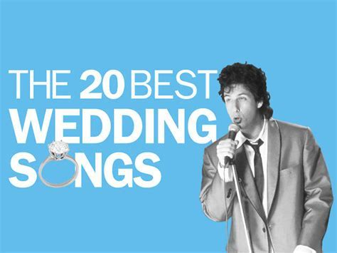 The best wedding songs ever made ? Great first dance songs