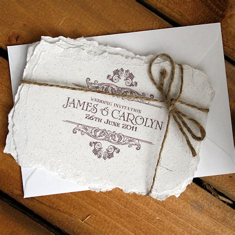 Wedding Invitation Vintage by Vintage Style Wedding Invitation By Solographic