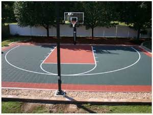 half outdoor courts traditional landscape other