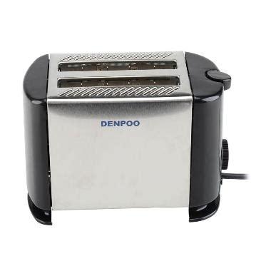 Pemanggang Roti Elektrik jual denpoo dt 022d pemanggang roti elektrik