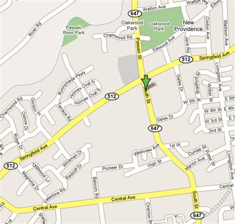 map of new providence dentist in new providence nj kevin browne dmd llc