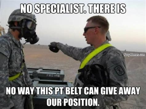 Belt Meme - the army has just declassified how the pt belt works and