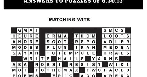 boat made of skins crossword rex parker does the nyt crossword puzzle erma eric ezra