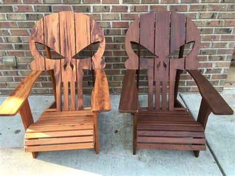 wooden skull lawn chair plans punisher skull adirondack chair plans punisher