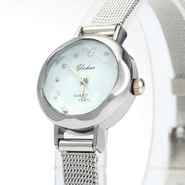 Jam Tangan Wanita Fashion White Silver Chanel 1 jual yuhao rs 01 jam tangan fashion silver white harga kualitas