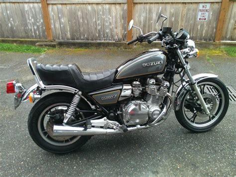 1980 Suzuki Gs1100l 1982 Suzuki Gs850 Glz My Classic And Custom Motorcycles