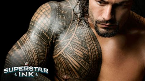 body tattoo wrestler reigns image hd