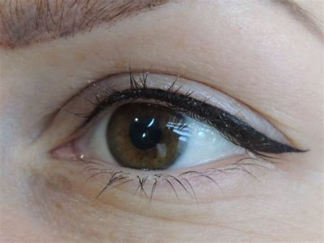 eyeliner tattoos 1000 ideas about permanent eyeliner on