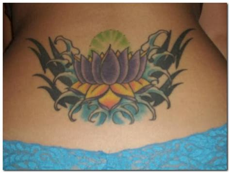 lotus tattoo in the back 45 lotus tattoos for female