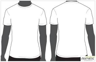 t shirt template vector free shirttemplate free images at clker vector clip