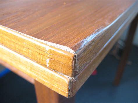 wood table repair diy repairing wood veneer furniture plans free
