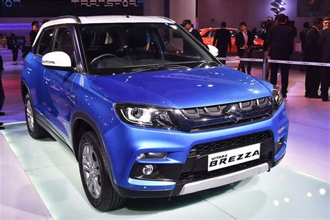 maruti suv price maruti vitara brezza is the most fuel efficient compact