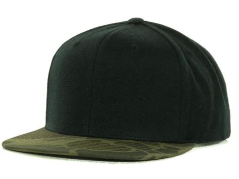black woodlandcamo blanks camo snapback cap lids