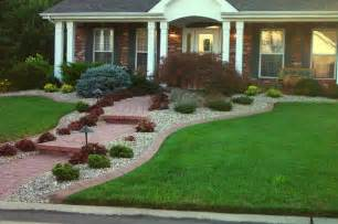 curb appeal landscaping residential edging traditional landscape st louis