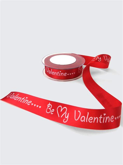 valentines day ribbon 24mm be my ribbon