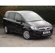 Car Picker  Black Vauxhall Zafira