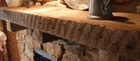 reclaimed wood installing box beams reclaimed wood reclaimed rough sawn beam fireplace mantle elmwood