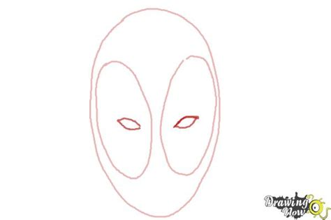 how to draw deadpool easy drawingnow