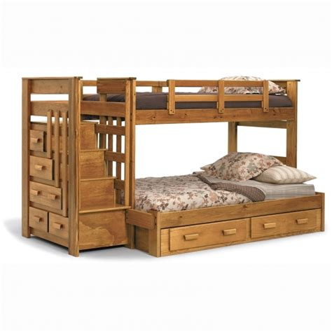 full over queen bunk bed with stairs solid wood full over queen bunk bed with stairs picture 27