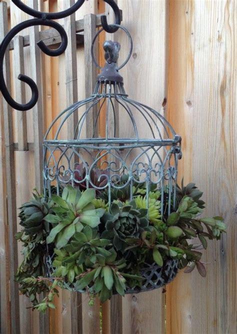 patio bird cages 25 best ideas about birdcage planter on bird