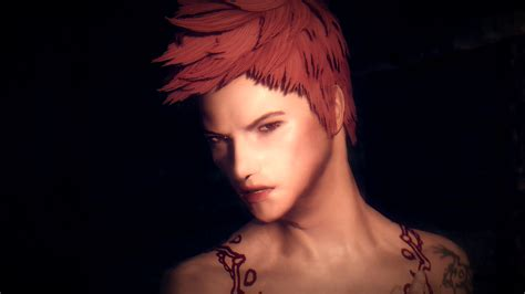 anime hairstyles skyrim mod skyrim new male hairstyles the newest hairstyles