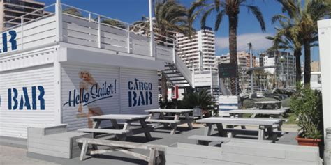 the boat house palma cargo container bar opens at the boat house palma the
