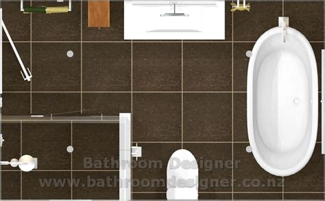 Modern Bathroom Plan by Modern Bathroom Designs