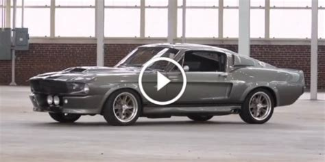 mustang shelby in 60 seconds build of eleanor shelby gt500 ford mustang from quot in