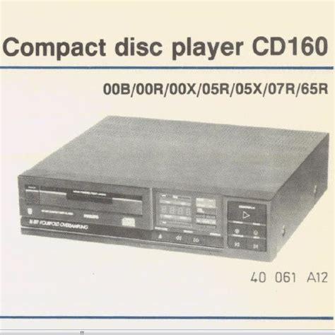 lade philips philips cd160 lade snaar mfbfreaks
