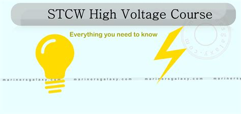 high voltage course for marine engineers stcw high voltage course for engineer officers