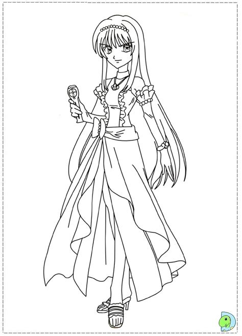 chibi mermaid melody coloring pages coloring pages