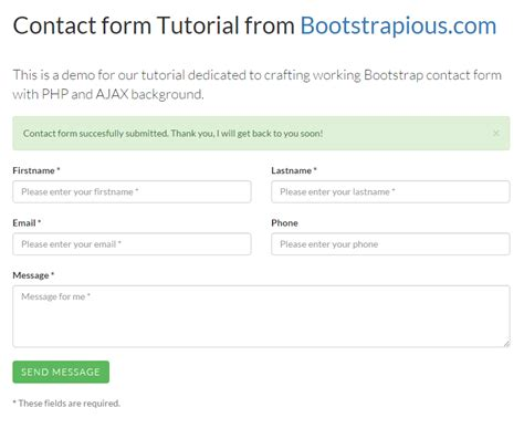 Contact Form In Bootstrap Jquery Pinterest Contact Form Design Development And Web Bootstrap Survey Form Template Free