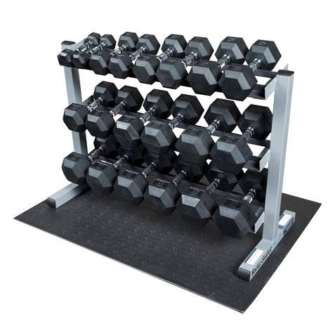Rak Dumbbell solid gdr363 rfws dumbbell rack with rubber dumbbells sports outdoors