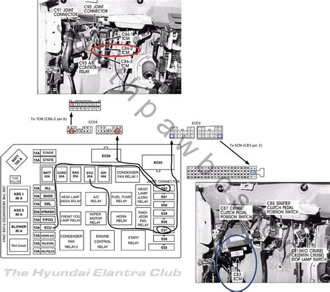 2001 hyundai accent ecu wiring diagram 28 images