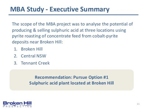 Mba In Shipping And Logistics Scope by Broken Hill Prospecting Asx Bpl Ris2014 Broken Hill