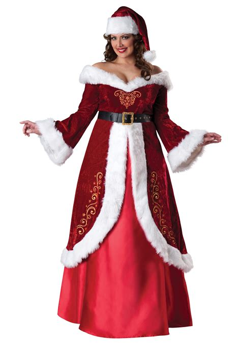 plus size mrs st nick costume