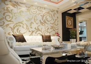 ideas for living room wallpaper modern living room