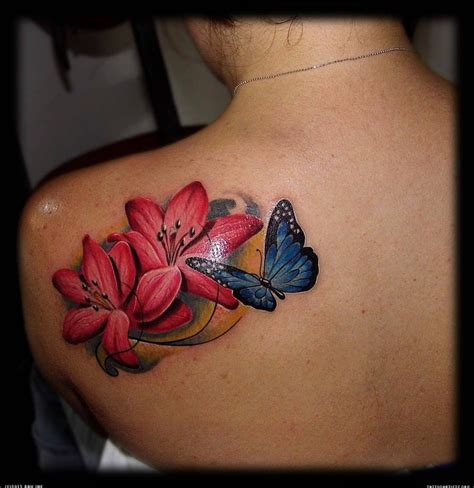 butterfly shoulder tattoos realistic butterfly tattoos on shoulder tattoos