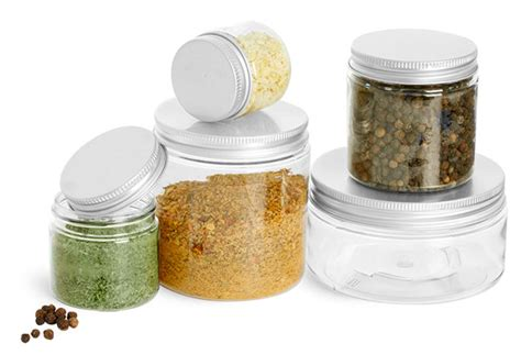 Empty Seasoning Bottles Sks Bottle Packaging Food Containers Clear Pet Spice